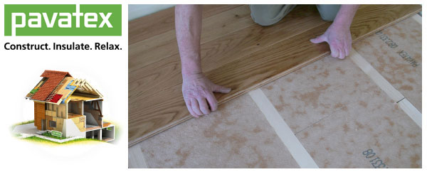 Insulating Floors Pavatex Wood Fibre Insulation