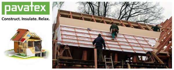 Insulating Roofs Pavatex Wood Fibre Insulation