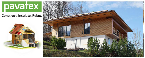 Summer Heat Protection with Pavatex Wood Fibre Insulation